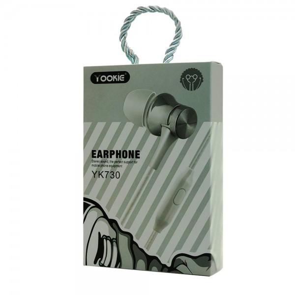 Yookie YK730 Stereo Earphone (black)