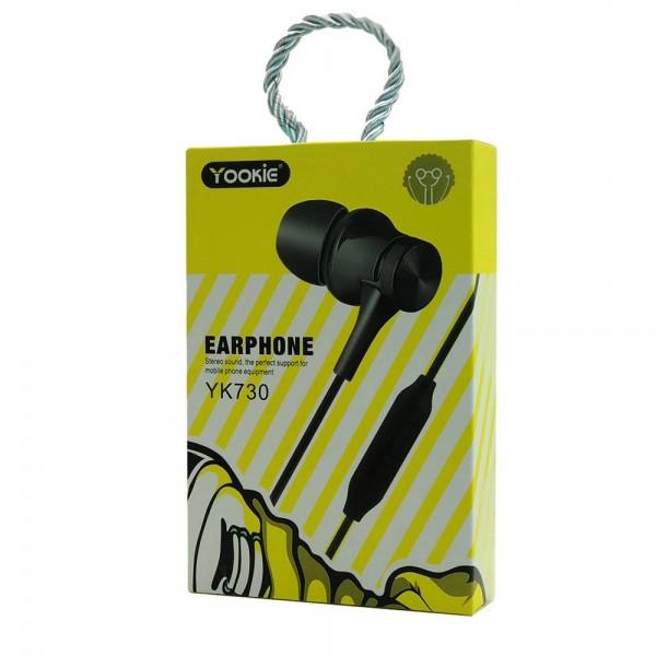Yookie YK730 Stereo Earphone (white)