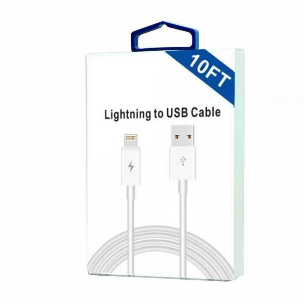 iOS 11 USB Cable for iPhone 8, 7, 6 (10FT)