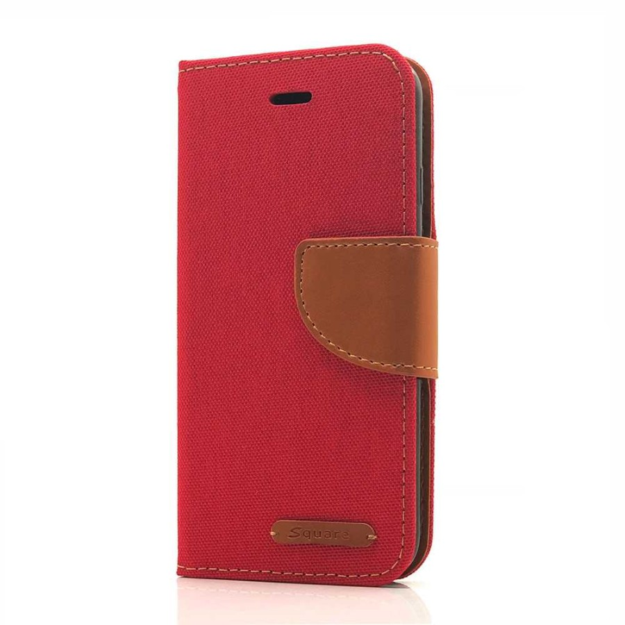 Mesh Wallet Case For LG Stylo 3 (red) | Wholesale
