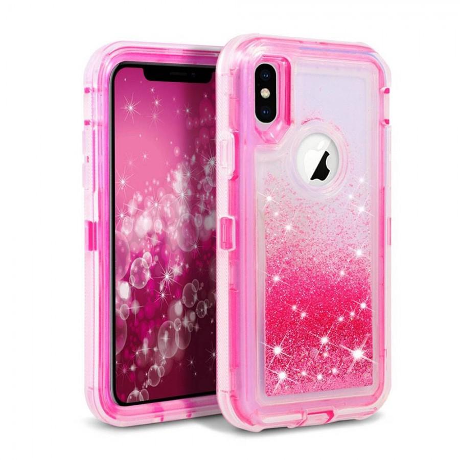 Glitter Defender Case for iPhone XR (hotpink) | Wholesale