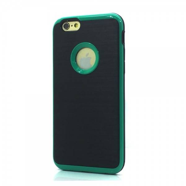 Wired Finish Hybrid Case For iPhone 6 6S (turquoise)