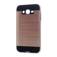 Brush Hybrid Case For Samsung Galaxy J7, J7 Neo (rose gold)
