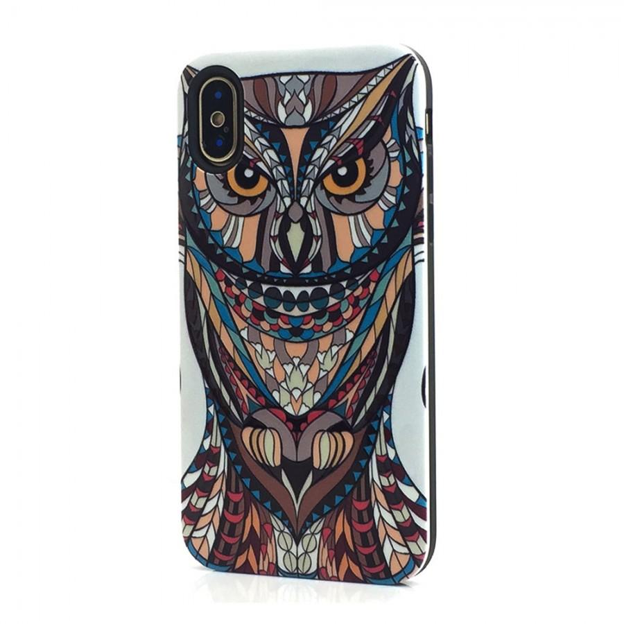 pretty nice e7ca1 4e85c Design Hybrid Case for iPhone X, 10, Ten (Owl) | Wholesale