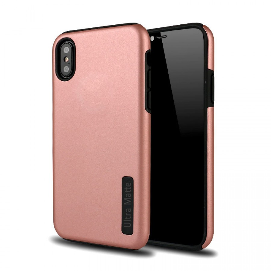 Ultra Matte Hybrid Case For Iphone Xs Max Rose Gold Wholesale