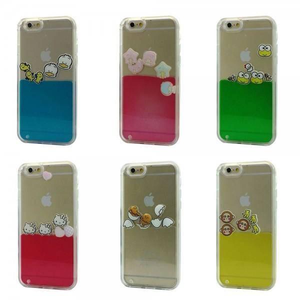 Liquid Float TPU Case for iPhone 8 Plus, 7 Plus Lot/6