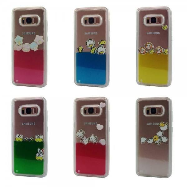 Liquid Float TPU Case for Samsung Galaxy S8 Lot/6