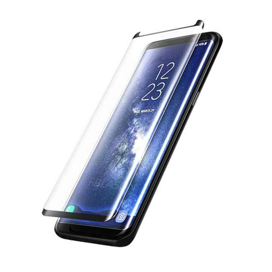 Curved Glass For Samsung Galaxy Note 9 (black)   Wholesale